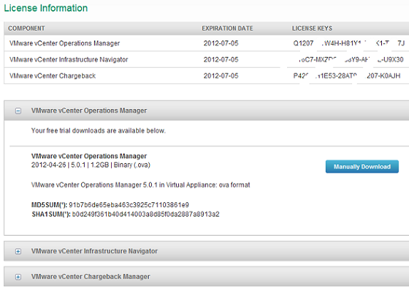 vmware vcenter server appliance keygen